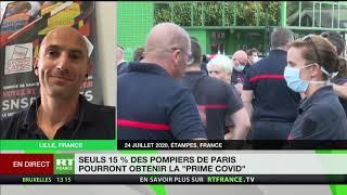 Yaël Lecras, président du SPP, revient sur la prime Covid versée à 15% des pompiers de Paris