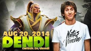 Dota 2 Stream: Na`Vi Dendi - Invoker (Gameplay & Commentary)