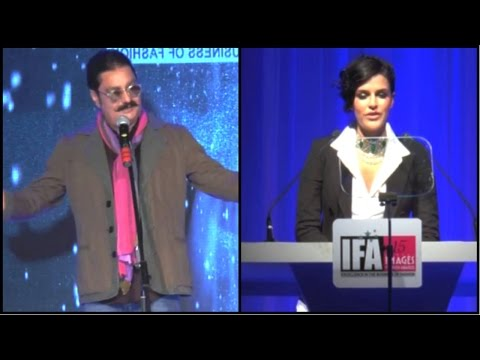 HOT Actress Neha Dhupia Hosts 15th Edition Of IFA