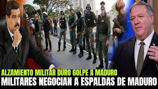 FANB Y ALTOS FUNCIONARIOS NEGOCIAN A ESPALDAS DE NICOLAS MADURO - GUAIDO LLAMADO NACIONAL VENEZUELA