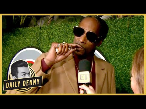 Snoop Dogg Lights Up on GQ 'Men of the Year' Red Carpet and It's Amazing | Daily Denny