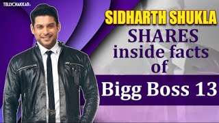 Sidharth Shukla compares Bigg Boss 13 to one of the biggest happenings in life   Details inside   - TELLYCHAKKAR