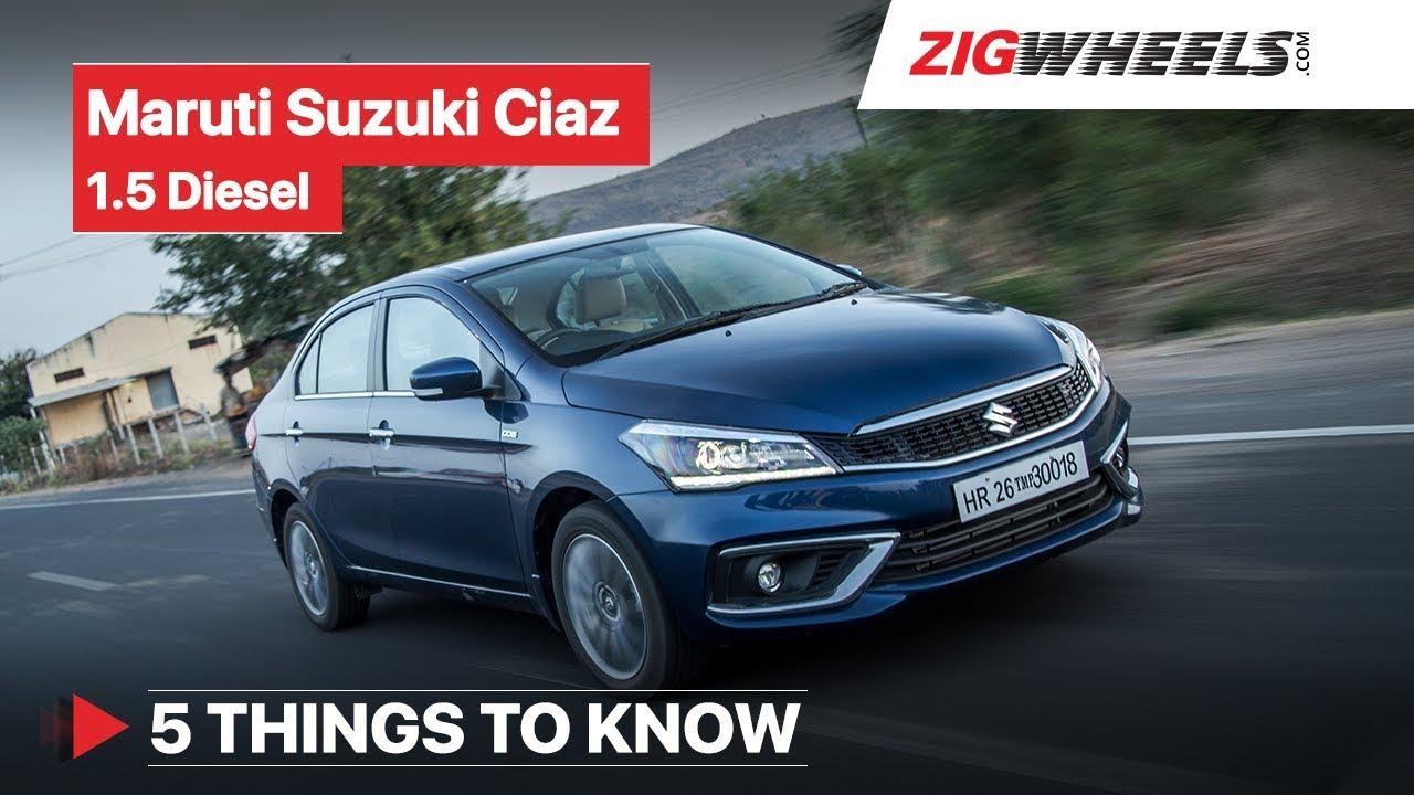 Maruti Suzuki Ciaz 2019 | Road Test Review | 5 Things You Need to Know | ZigWheels.com
