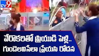 Viral Video of girl saying Babu Babu in boyfriend's marriage    Old Video - TV9 - TV9