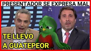 Viral Guatemala | Presentador de noticias de televisión se expresa mal de #Guatemala (LA NACION)