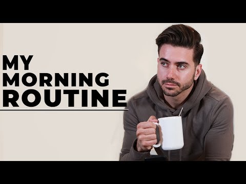 My Morning Routine While Traveling | Men's Morning & Grooming Routine 2018 | ALEX COSTA