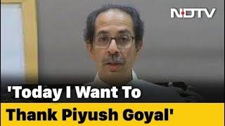 """Last Time He Got Angry"": Uddhav Thackeray Thanks Piyush Goyal For Trains - NDTV"