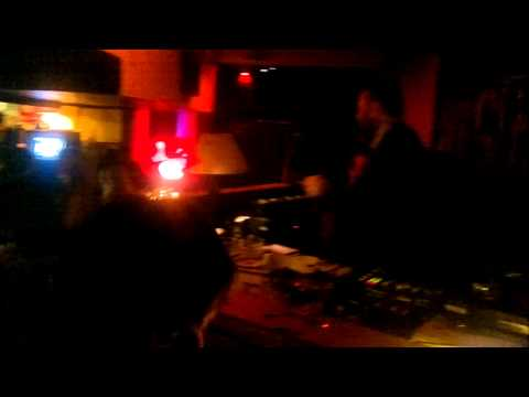 Aidan Moffat (Arab Strap) & James Graham (Twilight Sad) DJing at Pin Up Nights