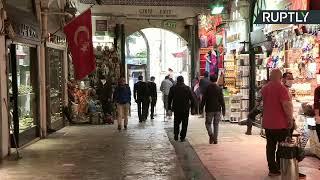 El Gran Bazar de Estambul reabre tras cerrar por la pandemia