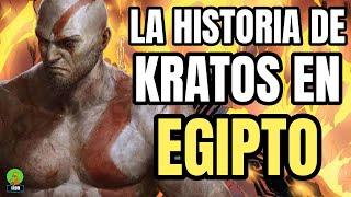 GOD OF WAR LA HISTORIA COMPLETA DE KRATOS EN EGIPTO - FALLEN GOD