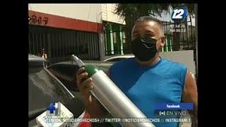 Aumenta la demanda por tanques de oxígeno