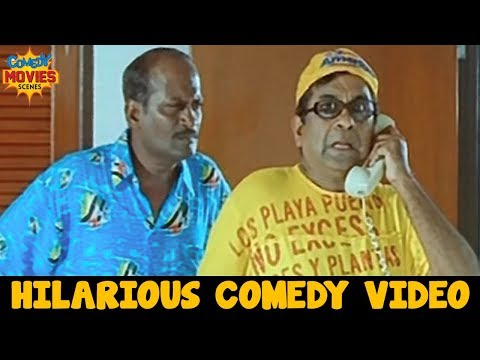 Brahmanandam Comedy Videos | Brahmanandam Best Telugu Comedy Scenes | Evadi Gola Vaadidi Movie