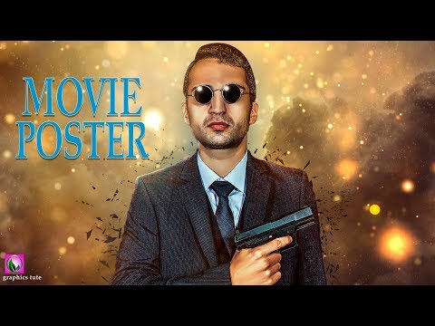 Hollywood Movie Poster Design In Photoshop - photoshop Tutorial