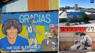 Los murales de Maradona en Buenos Aires: un homenaje para siempre