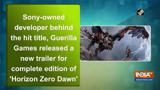 Sony's PS4 hit 'Horizon Zero Dawn' arrives on PCs on August 7 - INDIATV