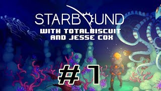 Starbound Beta - Episode 1 - Jesse is bad at interstellar travel