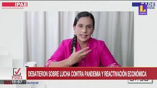 ???? Candidatos a la presidencia participaron en el debate virtual de CADE | Latina Noticias