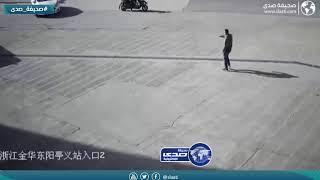 سائقة تدهس طفل