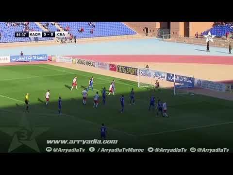 الكوكب المراكشي 1-0 شباب الحسيمة هدف سفيان اكويلي ضد مرماه