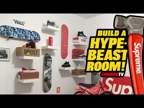 Building A Dope Hypebeast Room - Sneakerhead Heaven