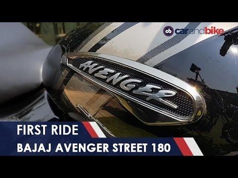 connectYoutube - 2018 Bajaj Avenger Street 180 First Ride | NDTV carandbike