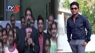 NRI Fans Waiting For Allu Arjun's Arrival   NATS 5th America Telugu Sambaralu