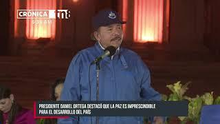 Daniel Ortega: «Como hijos de Sandino, debemos seguir librando esta lucha por la paz»