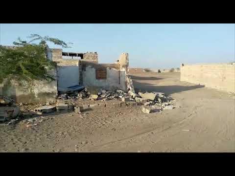 شاهد: دمار بمنازل المواطنين ونزوح للعائلات جرّاء قصف الحوثيين على حي منظر