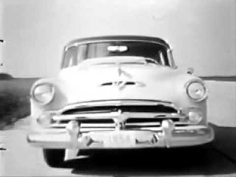 VINTAGE 1954 DODGE CAR COMMERCIAL - 40th ANNIVERSARY