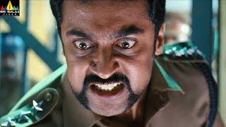 Powerful Police Officer Scenes Back to Back | Top Telugu Action Scenes | Vol 14 | Sri Balaji Video - SRIBALAJIMOVIES