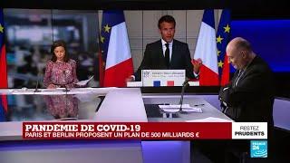 Covid-19 en Europe : Paris et Berlin proposent un plan de relance de 500 milliards d'euros