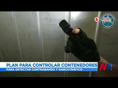 Se lanzó programa de contenedores para combatir el narcotráfico