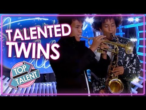 TWIN'S GOT TALENT | Best Twin Auditions From American Idol, Britain's Got Talent & more | Top Talent