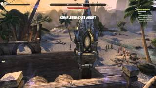 Let's Play Elder Scrolls Online: Fighting Pirates & Discovering Glitches