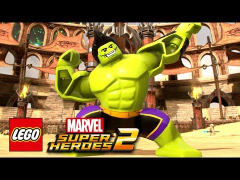 connectYoutube - LEGO Marvel Super Heroes 2 - Totally Awesome Hulk Free Roam Gameplay Showcase