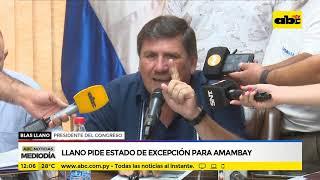 Llano pide estado de excepción para Amambay