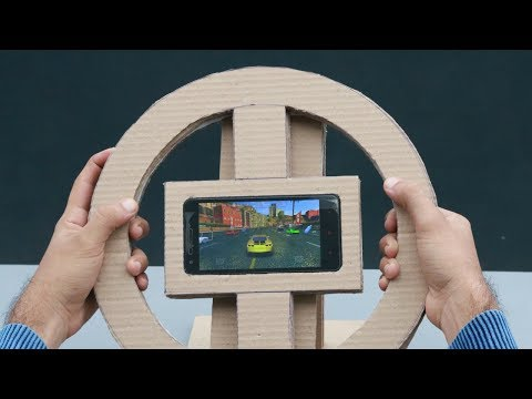 How to Make a Gaming Steering Wheel for Any Smartphone