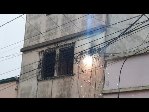 Bomberos Voluntarios atienden conato de incendio en la colonia Quinta Samayoa