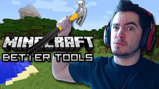 Minecraft: SUPER MAGICAL TOOLS! (Tools Done Right Mod Showcase)