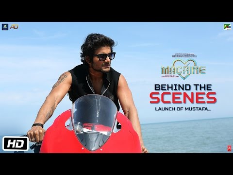 Machine Diaries | Behind The Scenes | Launching Mustafa | Abbas-Mustan