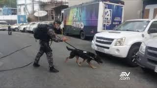 Investigan restos de explosión en sede de Teleamazonas Guayaquil