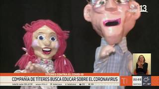 Compañía de títeres busca educar sobre el coronavirus
