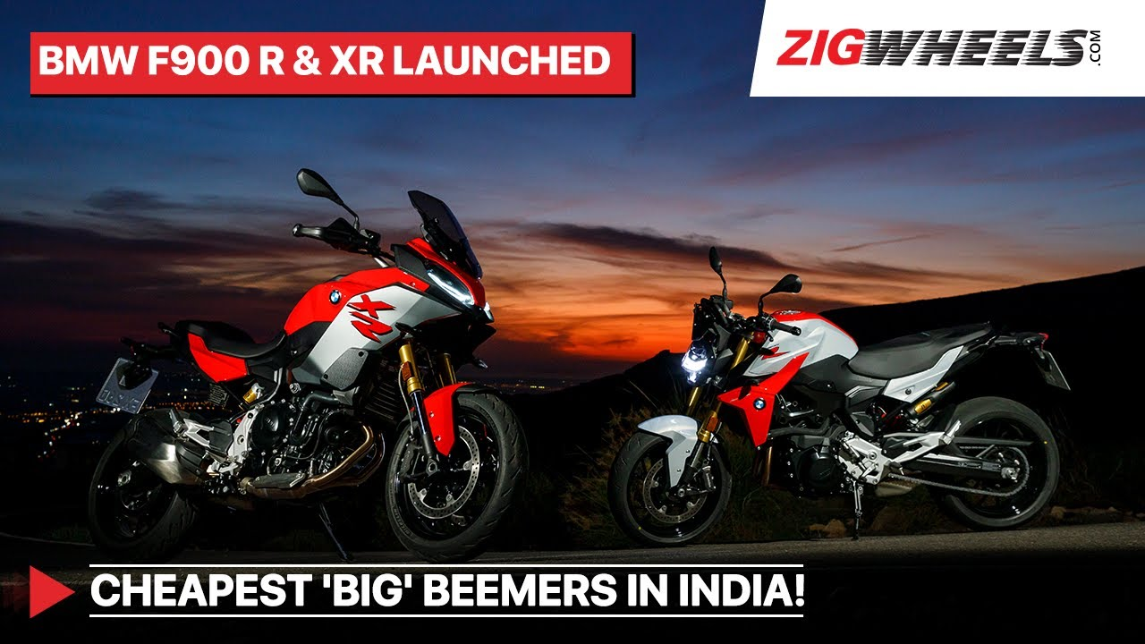 BMW F 900 R & F 900 XR Launched In India   Prices Starting Rs 9.9 Lakh   105PS Practical Big Bikes?
