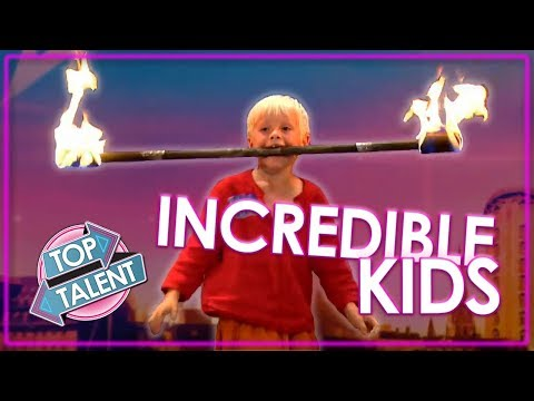 INCREDIBLE KIDS! Auditions from Denmark's Got Talent 2018 | Top Talent