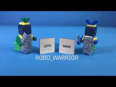 Cubelets Robot: robo_warrior
