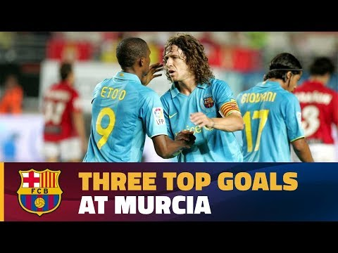 Great goals at Murcia's stadium