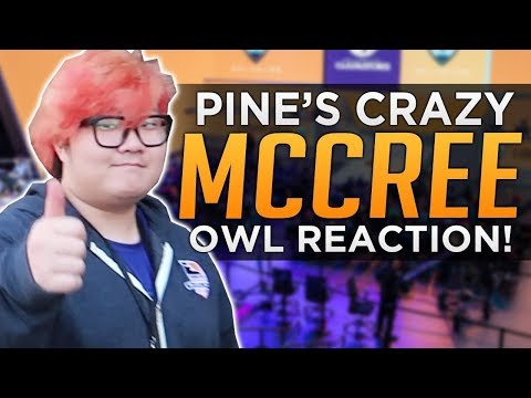 connectYoutube - Overwatch: Pine's CRAZY McCree! - OWL Reaction VLOG