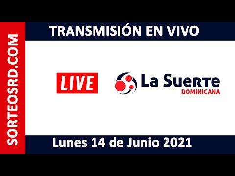 La Suerte Dominicana EN VIVO  Lunes 14 de junio 2021 – 12:30 PM