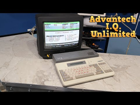 The Advantech I.Q. Unlimited with BASIC and a Z80 CPU.
