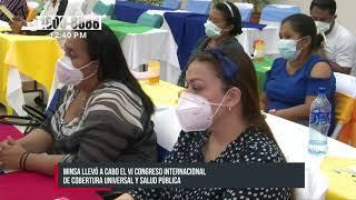 Realizan congreso internacional para fortalecer la salud pública en Nicaragua